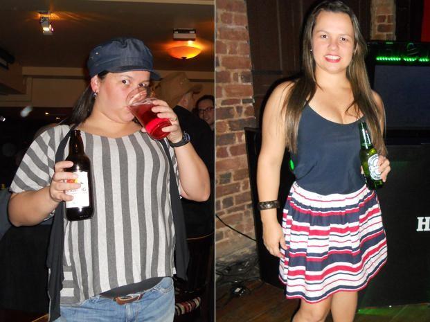 Danielle perdeu 11 kg após decidir mudar os hábitos e levar uma vida saudável (Foto: Arquivo pessoal)