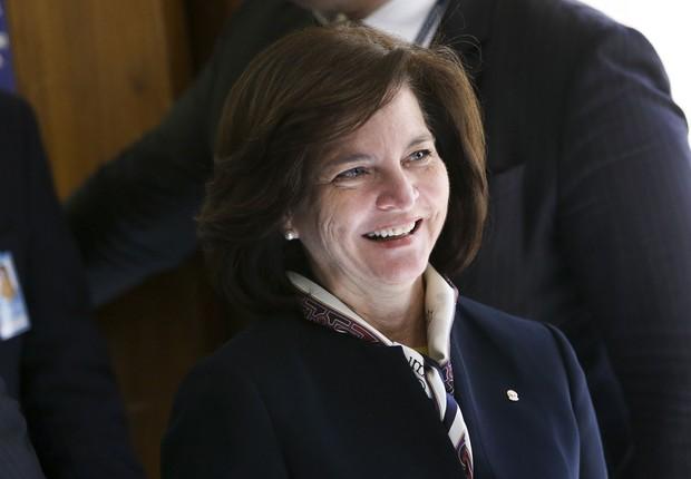 Raquel Dodge é sabatinada na CCJ do Senado: ela vai substituir Rodrigo Janot à frente da PGR (Foto: Marcelo Camargo/Agência Brasil)