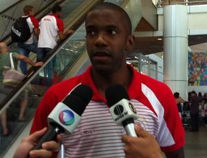 Fabinho retorna ao time do América-RN (Foto: Tiago Menezes/GLOBOESPORTE.COM)
