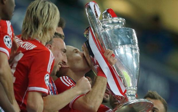 Robben Bayern de Munique campeão (Foto: Reuters)