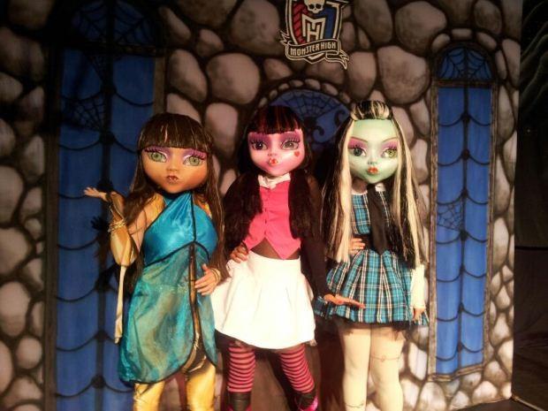 Espetáculo Mundo Monster High (Foto: Divulgação Mundo Monster High)