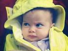 Debby Lagranha se diverte com foto da filha: 'Mamãe, tô bolada!'