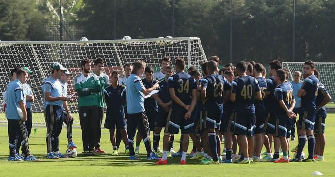 Palmeiras grupo (Foto: Cesar Greco/Ag Palmeiras/Divulgação)