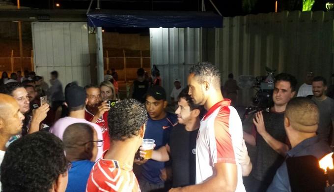 Bruno jogo Boa Esporte (Foto: Bruno Giufrida / GloboEsporte.com)