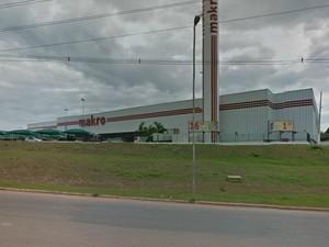 Rede atacadista Makro, em Rio Branco (Foto: Google Maps)