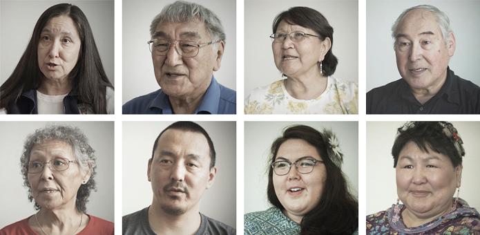 Alguns dos nativos do Alasca que deram depoimentos para a produção de Never Alone (Foto: Reprodução/neveralonegame.com)