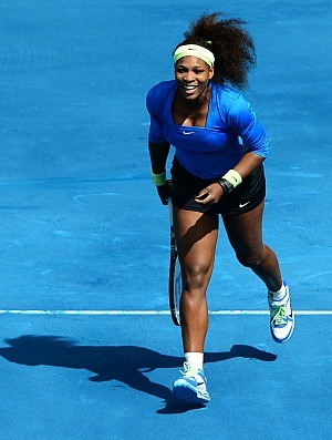 Serena Williams tênis Madri 1r (Foto: Getty Images)