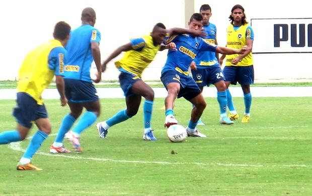 Antônio Carlos Sassá treino Botafogo (Foto: Fabio Leme)