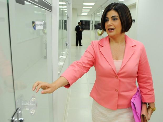 Rosinha Garotinho foi reeleita e fica mais quatro anos na Prefeitura de Campos (Foto: Gerson Gonçalo)