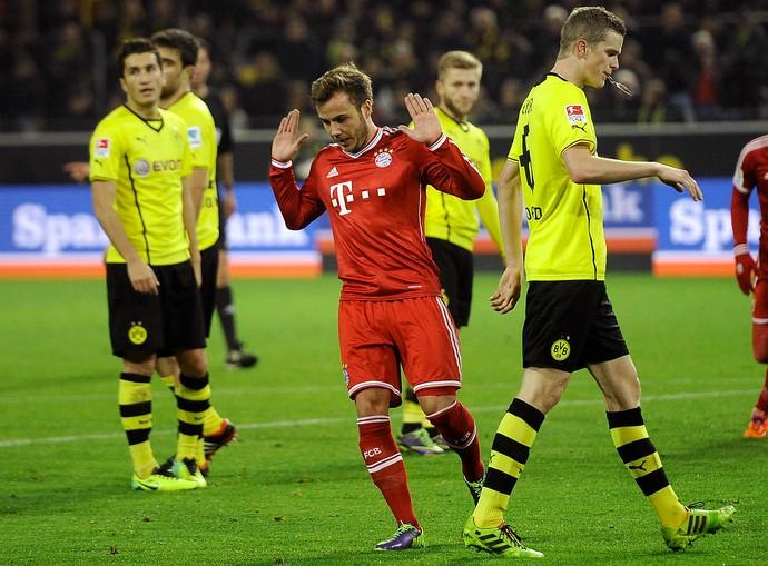 Mario Götze Bayern Borussia Dortmund (Foto: Getty Images)