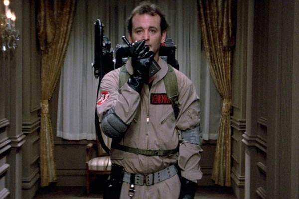 Bill Murray em Os Caça-Fantasmas (1984) (Foto: Reprodução)