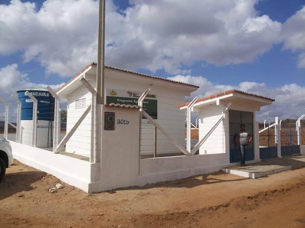 Semarh entrega mais um lote de dessalinizadores do Programa Água Doce (Foto: Assecom/Divulgação)
