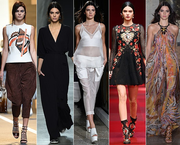 [MODA] Kendall Jenner (Foto: Getty Images/Agência)