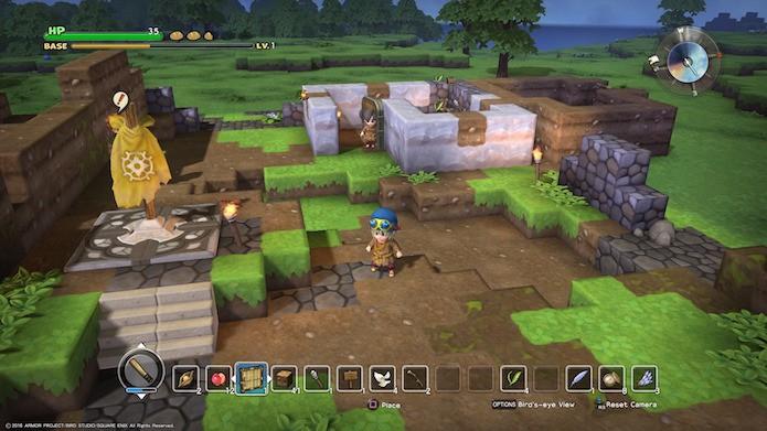 Dragon Quest Builders: aventura é dividida em longos capítulos (Foto: Reprodução/Victor Teixeira)