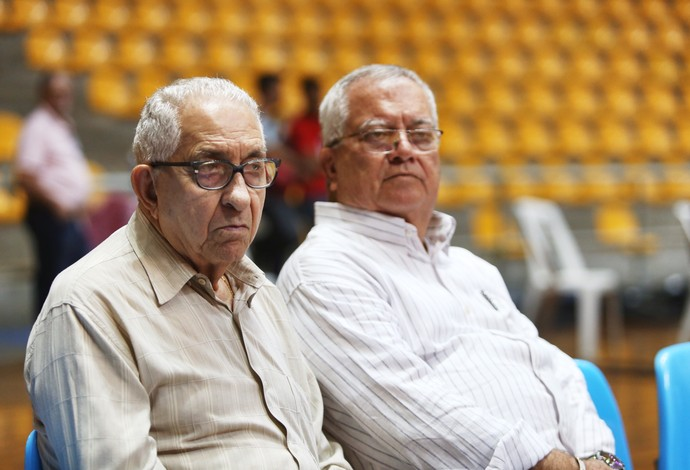 Aécio de Borba Vasconcelos e Edson Nogueira CBFS futsal uberlândia copa das nações (Foto: Zerosa Filho / CBFS)