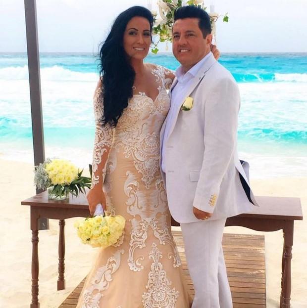 Bruno e a mulher, Marianne (Foto: Instagram / Reprodução)