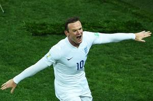 Rooney gol Inglaterra x Uruguai (Foto: Getty Images)