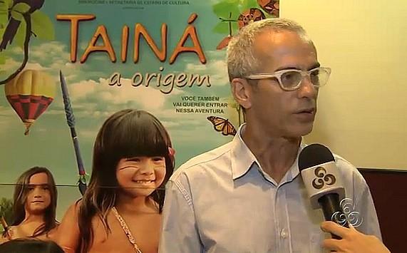 Semelhança de Wiranu com a atriz Eunice Bahia que já fez Tainá impressionou afirma Claudio (Foto: Bom dia Amazônia)