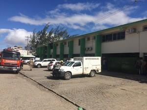 Seis pessoas morreram na Penitenciária Juiz Plácido de Souza, diz IML (Foto: Magno Wendel/TV Asa Branca)