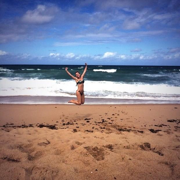 Eliana em praia (Foto: Instagram/ Reprodução)