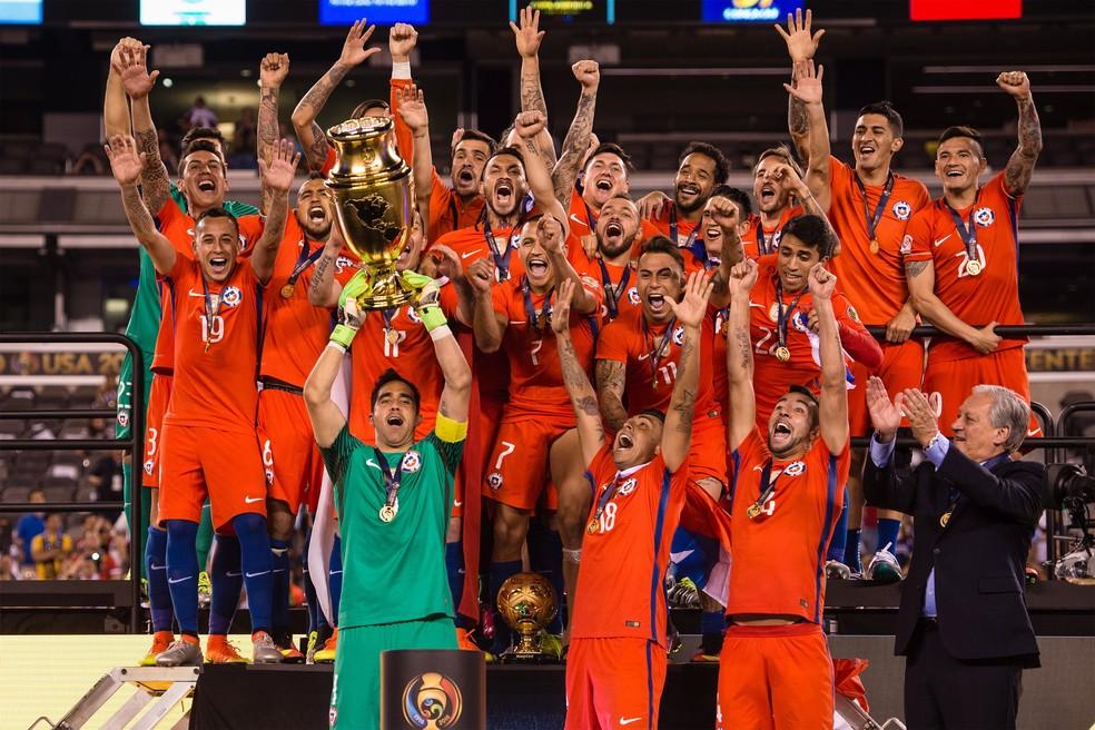 Seleção do Chile é a atual bicampeã da Copa América (Foto: Getty Images)