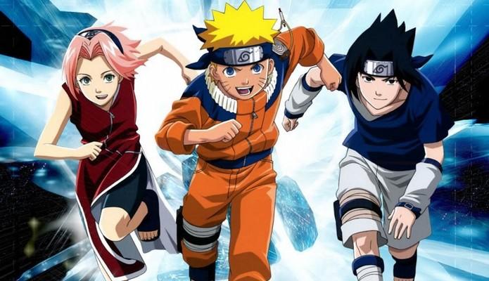 Naruto ficou em 1º lugar entre os programas de TV (Foto: Reprodução/Studio Pierrot)