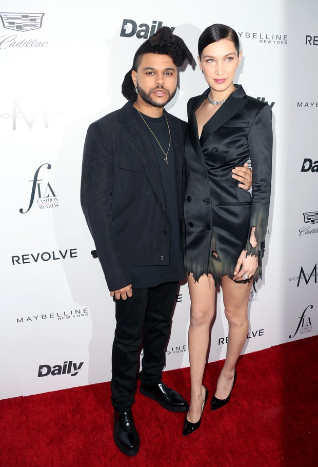 The Weeknd e Bella Hadid (Foto: AFP / Getty)