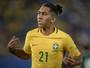 Firmino entra em campo pelo Brasil nos próximos jogos das Eliminatórias