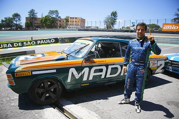 Rodrigo Pimente vencedor das duas corridas de domingo e campeção geral em 2017 (Foto: Humberto Silva/OSR)