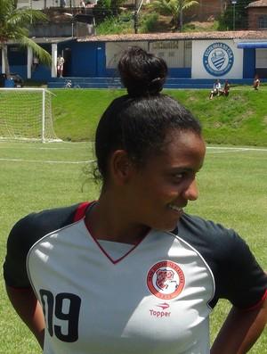 Pretinha (Foto: Viviane Leão/GloboEsporte.com)