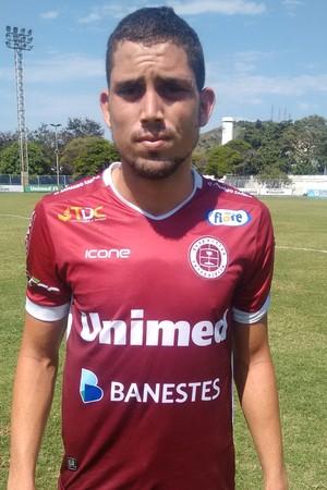 Rael, atacante da Desportiva Ferroviária (Foto: Wagner Chaló/GloboEsporte.com)