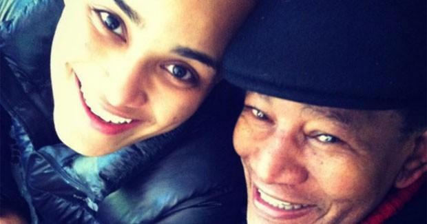 Luciana Mello e Jair Rodrigues (Foto: Reprodução)