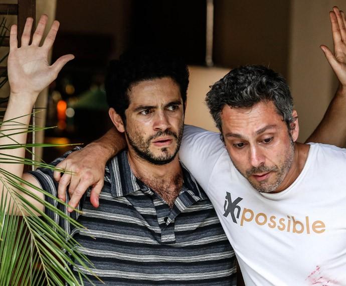 Vinícius de Oliveira contracena com Alexandre Nero (Foto: Ellen Soares / Gshow)