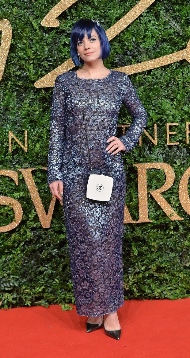 Lily Allen no British Fashion Awards (Foto: Getty Images)