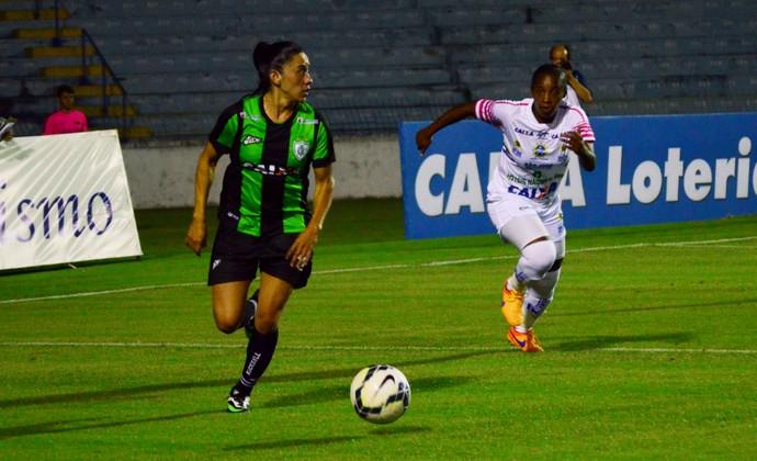 América-MG futebol feminino (Foto: Danilo Sardinha/GloboEsporte.com)