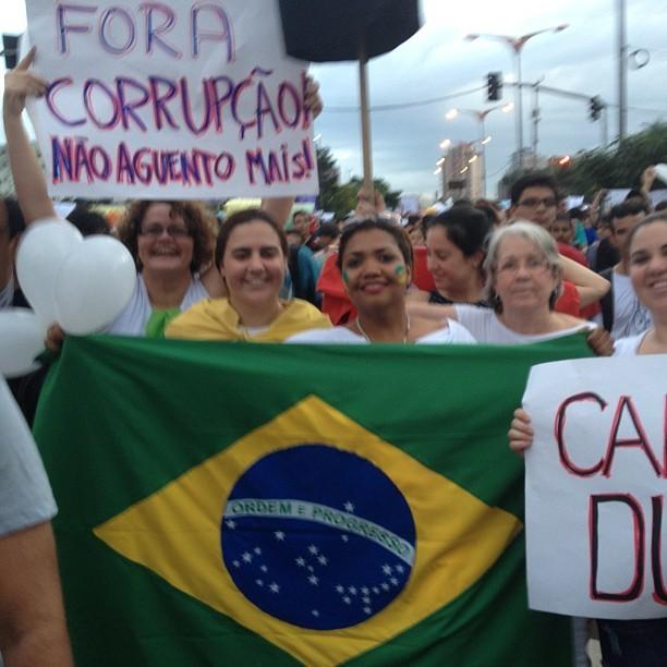 Foto postada por Gaby Amarantos em Belém (PA) (Foto: Reprodução/Instagram)