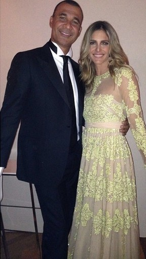 Fernanda Lima e Ruud Gullit (Foto: Instagram / Reprodução)