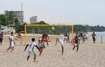 Estrela e Área Verde fazem final da Copa Manaus de Beach Soccer