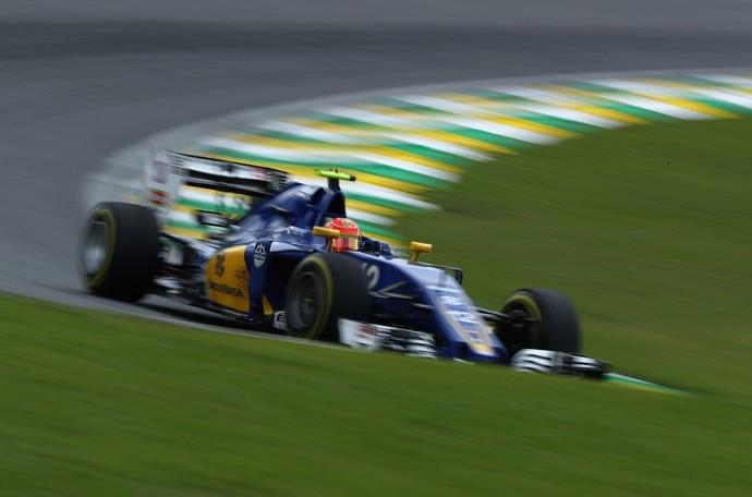 Felipe Nasr nos treinos livres para o GP do Brasil (Foto: Getty Images)