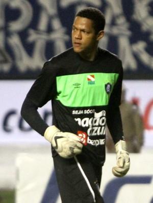 Maycki Douglas goleiro no Remo (Foto: Everaldo Nascimento/O Liberal)