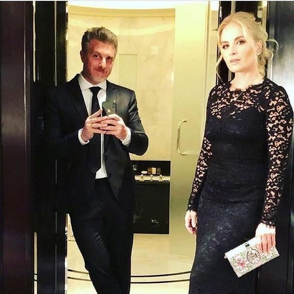Luciano Huck e Angélica prontos para a festa (Foto: Instagram/Reprodução)