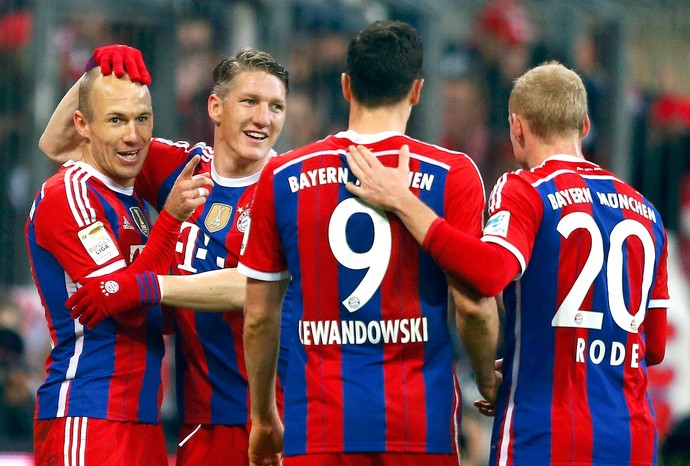Schweinsteiger, Bayern de Munique x Hoffenheim (Foto: Reuters)