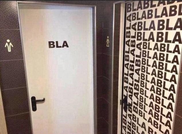 Provocação... Homens: Blá; Mulheres: Blá-blá-blá-blá-blá...