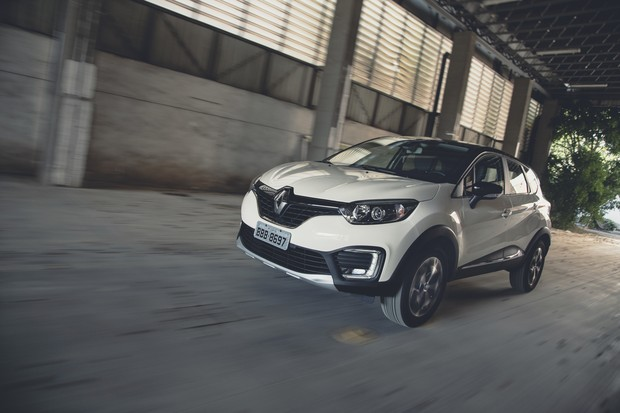 Renault Captur (Foto: Fabio Aro / Autoesporte)