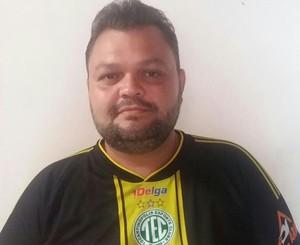 Vagner Novais, é o novo presidente do TEC  (Foto: Arquivo pessoal/ Divulgação)
