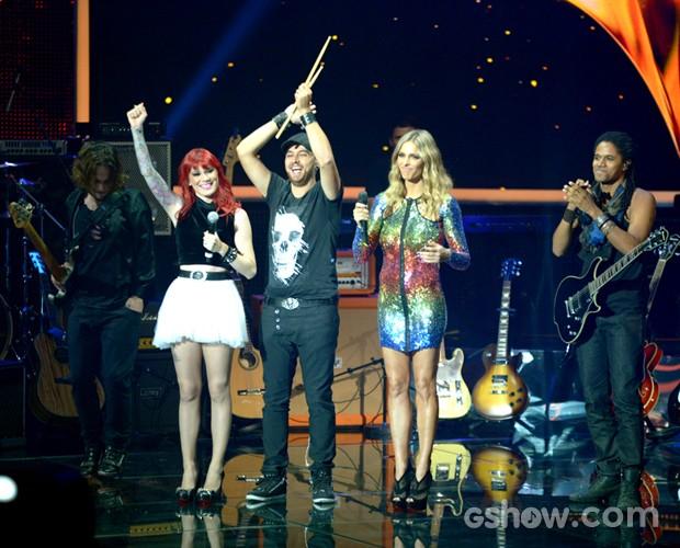 Move Over estreia Audições 3 apresentação palco (Foto: Camila Serejo/TV Globo)