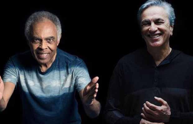 Gilberto Gil e Caetano Veloso vão fazer turnê juntos (Foto: Divulgação)