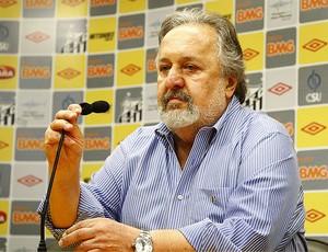 Luis Alvaro de Oliveira Ribeiro, presidente do Santos (Foto: divulgação/Santos FC)