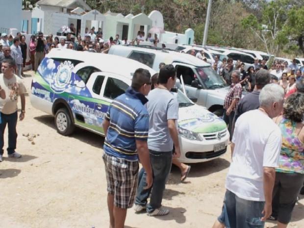 Dono da banda Forró Real morre em acidente de trânsito no Ceará (Foto: Reprodução/TV Verdes Mares)