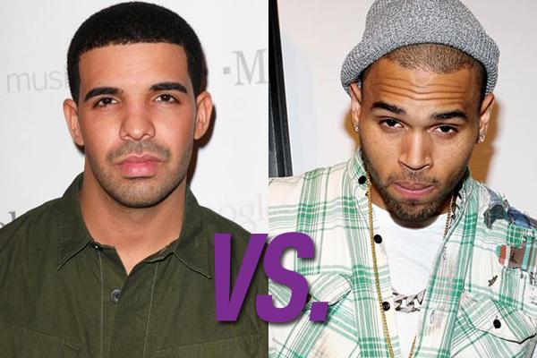 Drake vs. Chris Brown (Foto: Divulgação)
